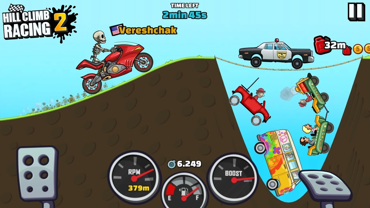 Hill Climb Racing 2 Classic Time Attack Event Superbike GamePlay