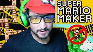 Playing BANNED Mario Maker Levels