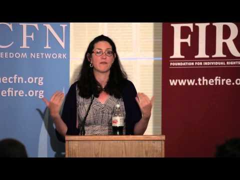 Megan McArdle's Keynote at 2013 CFN Conference