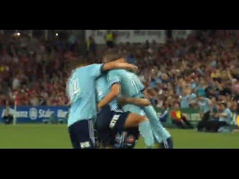 Sydney FC Vs Western Sydney Wanderers, Hyundai A League 2014 (Round 22)