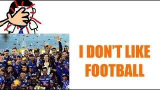 Total BC - I Don't Like Fifa - Bollywood Classroom - Mania Ki Duniya