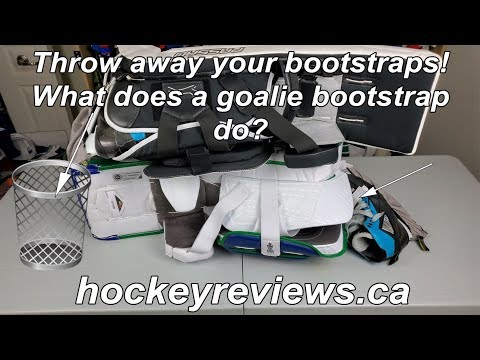 Throw Away Your Bootstraps! What Does A Goalie Pad Bootstrap Do?