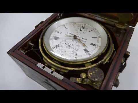 Ulysse Nardin marine chronometer no. 212