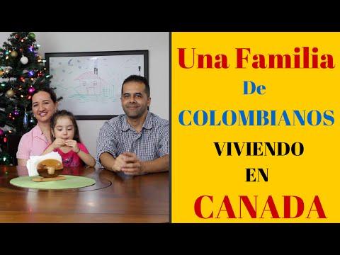 Como Vivir en Canada, Una Familia Colombiana Viviendo en Canada