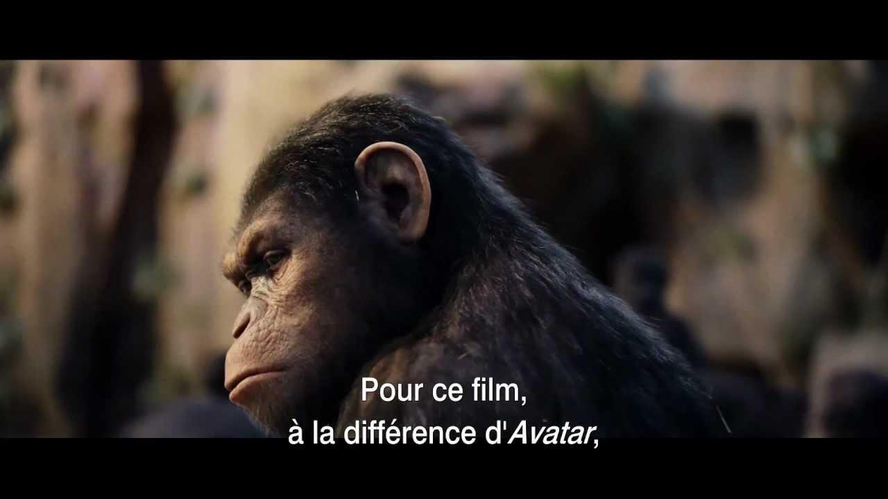 La Planète des singes : Les origines - Effets speciaux Weta