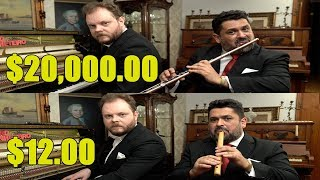 Can You Hear The Difference Between Expensive And Cheap Flutes?