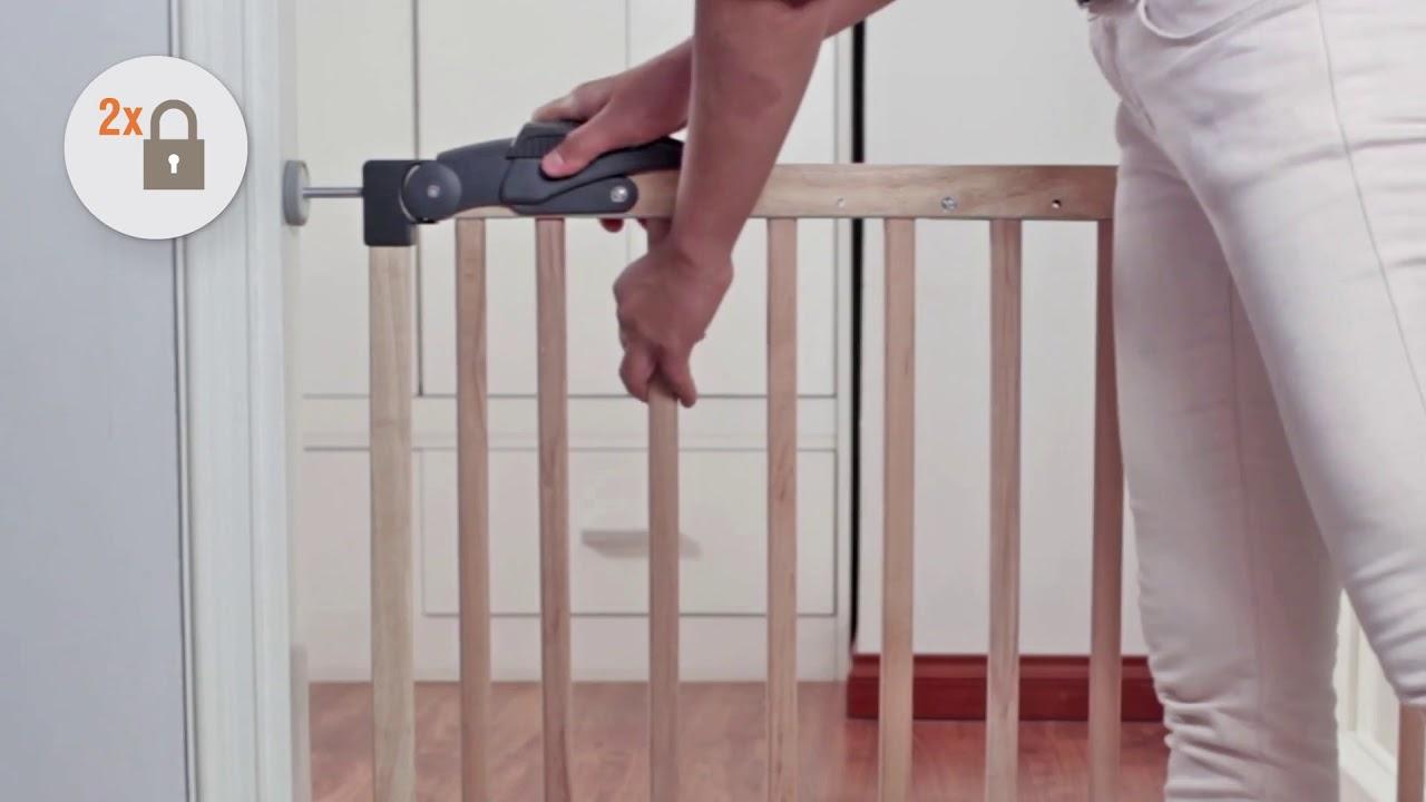 Hedendaags 571.052 - Traphekje Julia Hout / Barrière Julia en Bois - YouTube MM-34