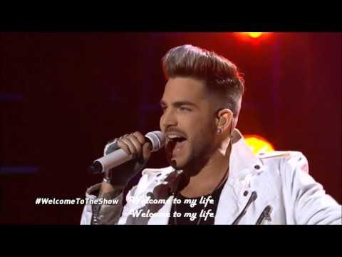 Adam Lambert Welcome To The Show Lyrics fan video
