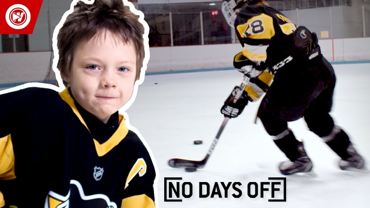 8 Year Old Sidney Crosby Roman Marcotte Hockey Highlights Youtube