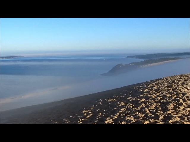 Dune du Pilat: Incroyable spectre de Brocken au dessus des nuages