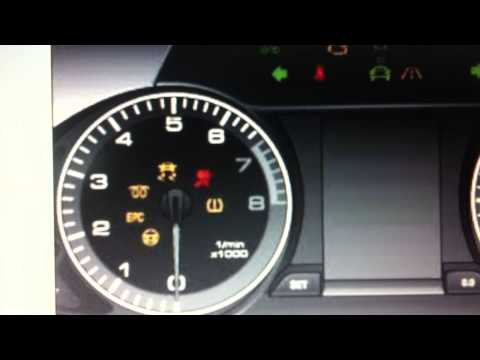 Audi A4 B8 Dashboard Warning Lights & Symbols - What They Mean