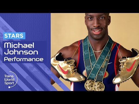 Michael Johnson on Trans World Sport