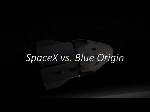 SpaceX vs. Blue Origin,  Space Race of the 21st Century!