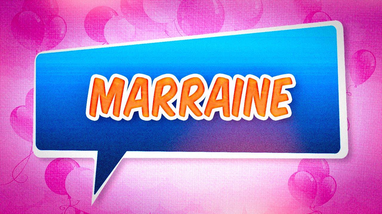 Joyeux anniversaire Marraine - YouTube