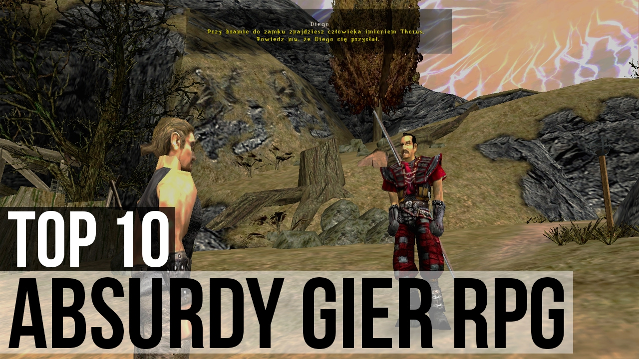 Top 10: Największe absurdy gier RPG