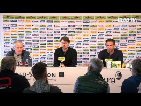 Die PK mit Christian Streich & Boris Schommers | SC Freiburg - 1. FC Nürnberg 5:1