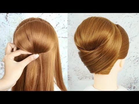 Chignon Hairstyles For Weddings - Easy And Cute Hairstyles For Party | Trending Hairstyle For Ladies