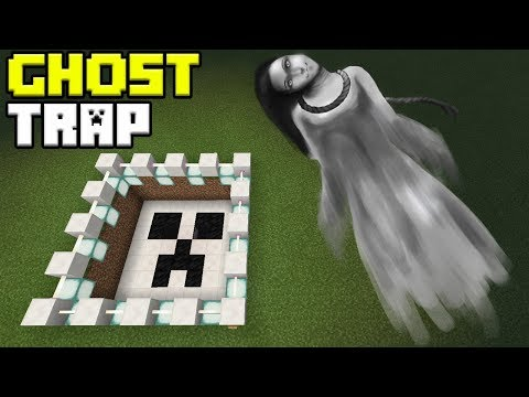 How to Make a GHOST TRAP | Minecraft PE