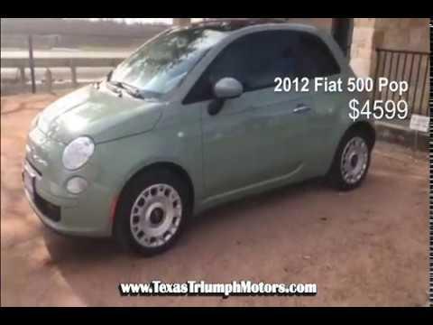 2017 Fiat 500 Pop Test Drive Texas Triumph Motors