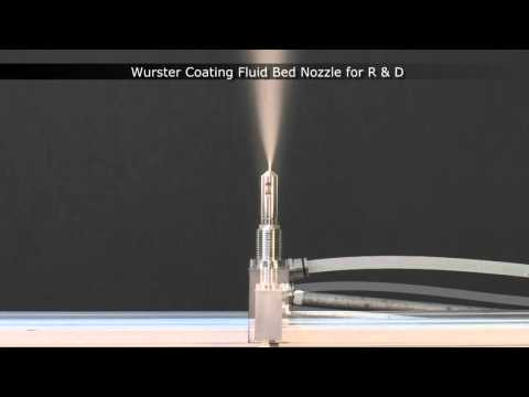 Wurster Coating Fluid Bed Nozzle From Spraying Systems Co.