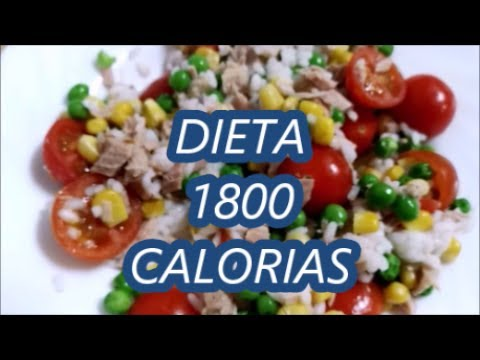 Dieta 1800 calorias
