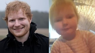 Ed Sheeran's Baby Look-Alike Goes VIRAL & Mom Of Two-Year-Old Responds