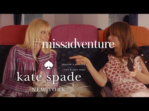 anna faris & rosie perez in #missadventure: the bumpy ride (s3, e1)   kate spade new york