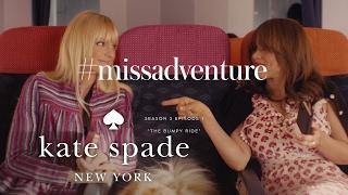 anna faris & rosie perez in #missadventure: the bumpy ride (s3, e1) | kate spade new york