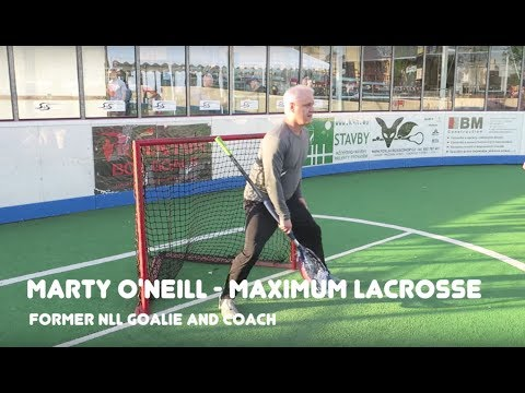 How To Play Box Lacrosse Goalie