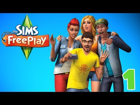 """The Beginning!! """"Sims FreePlay"""" Ep.1"""
