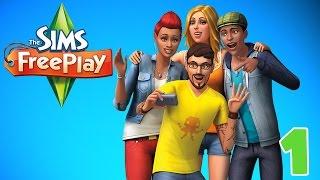 "The Beginning!! ""Sims FreePlay"" Ep.1 screenshot 5"