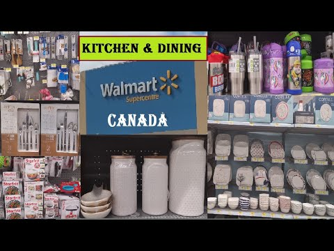 Walmart Canada | Kitchen Decor Accessories | Kitchen & Dining | Dinnerware | WALMART SHOPPING  2020
