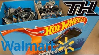 Hot Wheels Wal-Mart Dump Bins W/ New 2019 F Case Super Treasure Hunt Mazda Repu & Corvette Roadster!