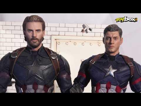 Hot Toys CAPTAIN AMERICA Avengers Infinity War MMS481 Chris Evans キャプテン・アメリカ 캡틴 아메리카 美國隊長