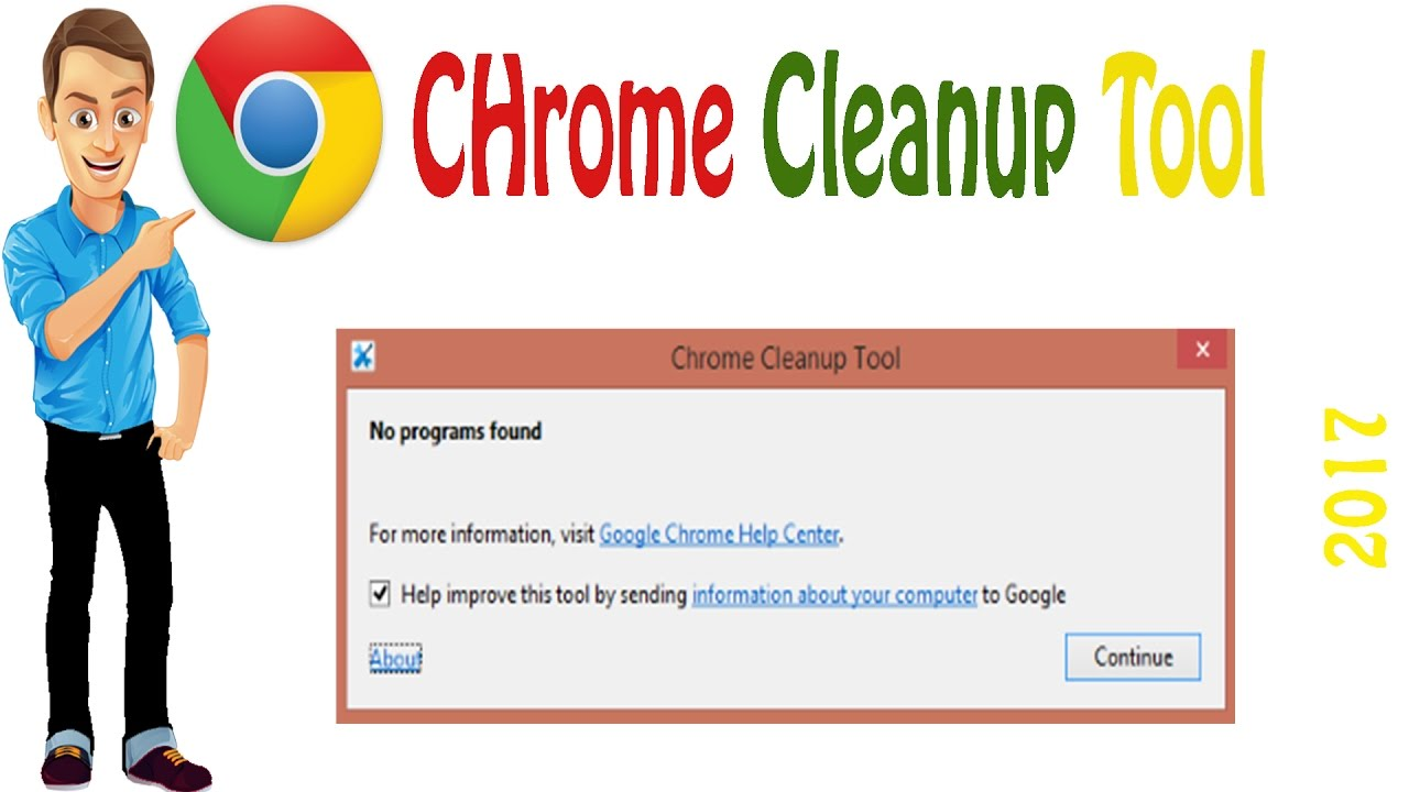 cleanup tool google chrome