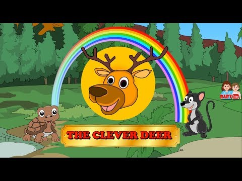 The Clever Deer Short Story for Children | Best Stories for Kids | Moral Stories for Toddlers
