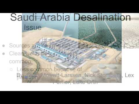 Saudi Arabia Desalination