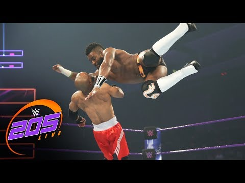 Thumbnail: Cedric Alexander vs Johnny Boone: WWE 205 Live, May 23, 2017