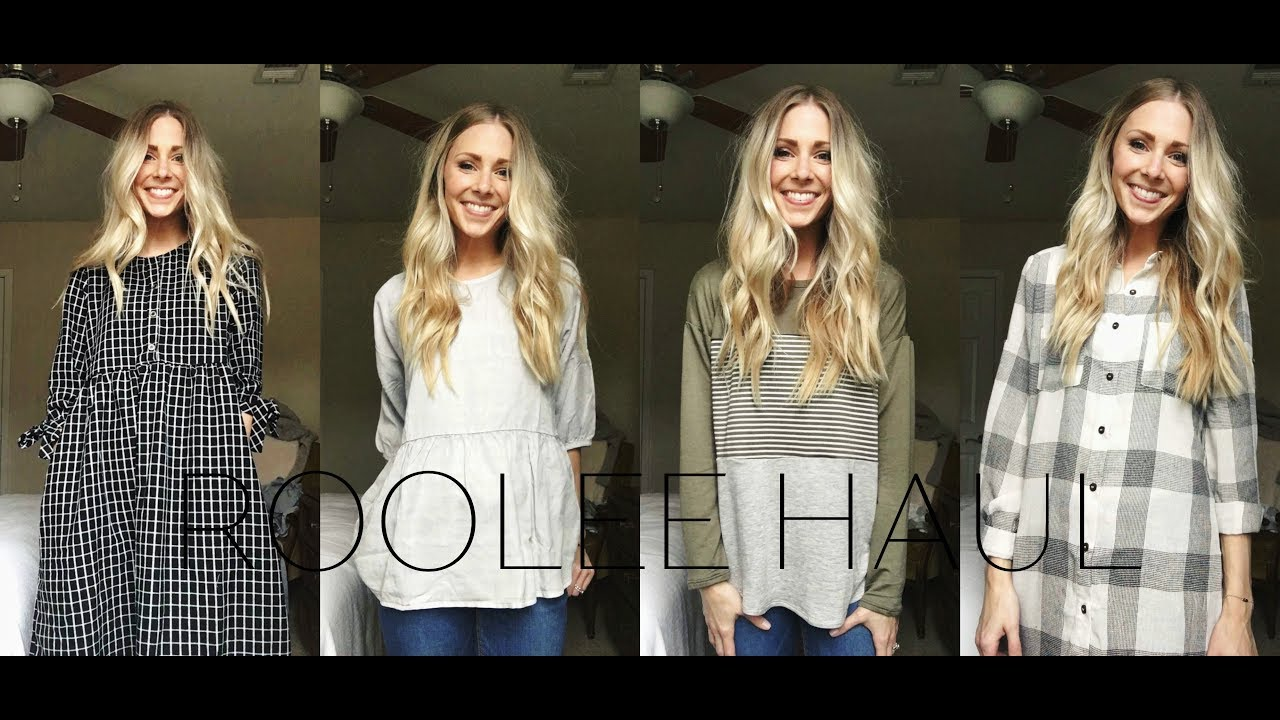 60683486a5c ROOLEE BOUTIQUE CLOTHING TRY-ON HAUL by Dayna Pulsipher