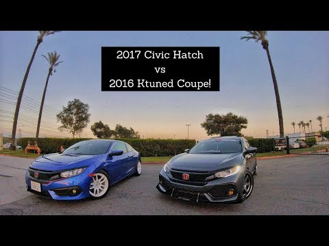 Best Mod for the 10thgen Civic?! Turbo Coupe Vs Turbo Hatchback!