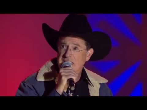 """Stephen Colbert Covering Toby Keith's """"Not As Good As I Once Was"""""""