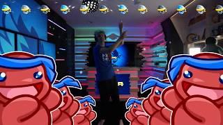 NEW NINJA PON PON DANCE IN NEW GAMING ROOM!! Fortnite Funny Moments