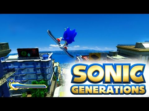 full download sonic generations 09 city escape classic