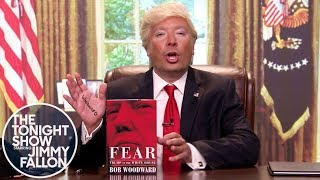 Donald Trump Reacts to Bob Woodward's New Book