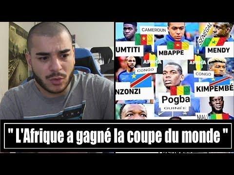 """"""" L'AFRIQUE A GAGNÉ LA COUPE DU MONDE """"  ?"""