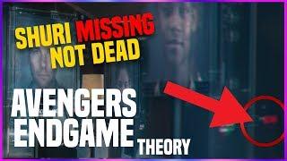 Avengers Endgame: Shuri MISSING NOT DEAD!