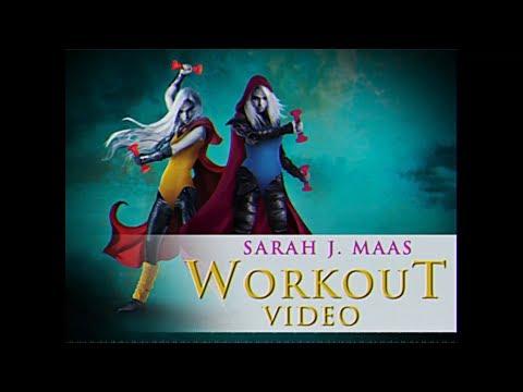 Sarah J. Maas Workout Video