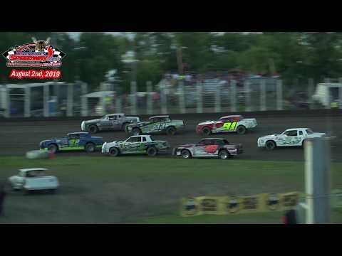 River Cities Speedway WISSOTA Street Stock Heats (8/2/19)