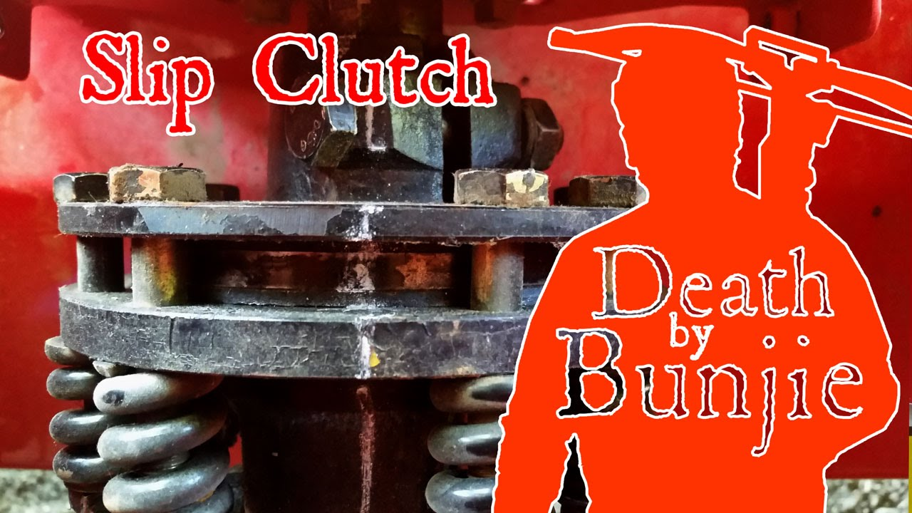 How To Slip The Slip Clutch On A Rototiller Or Brush Hog