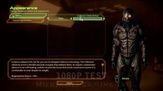 Mass Effect 2 Bonus Armor 1080p Test